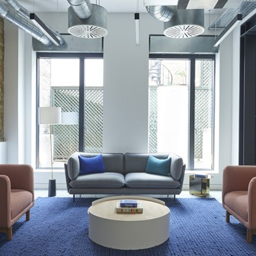 Office space in Room 1, 123 Curtain Road
