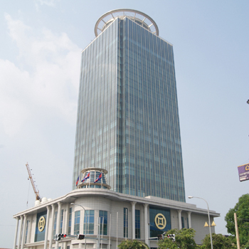 Office space in 18/F Canadia Bank Tower, No. 315 Ang Doung St