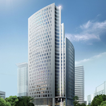 Office space in 9/F, Eco City, 1788 Nanjing West Road