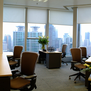 Office space in The Center, 989 ChangLe Road
