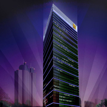 Office space in K .Wah Centre Huaihai Zhong Road