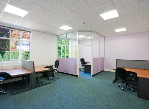 Office space in Warlies Park House Horseshoe Hill