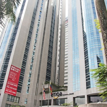 Office space in Etiqa Twins, 11 Jalan Pinang