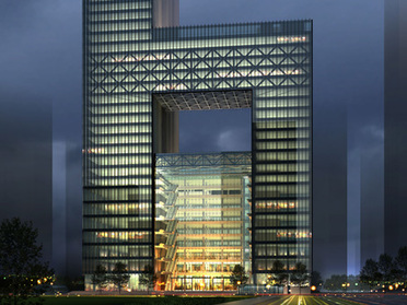 Office space in 18F, Wuhan Poly Plaza, No 99 Zhongnan Road