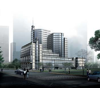 Office space in Plaza of Zhejing Foreign Economics, Level 8, 468 Yan'an Road, Zhejiang Province