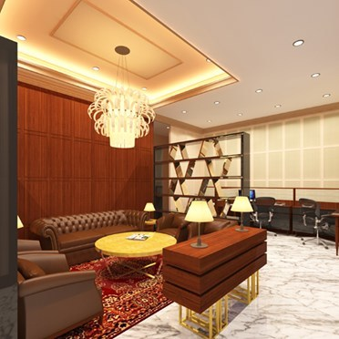 Office space in Palladium Hotel, 462 Senapti Bapat Marg