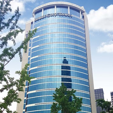 Office space in 22F, Seoul Station Centre, 110 Huam-ro