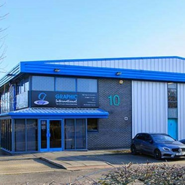 Office space in Greencroft Industrial Estate Annfield Plane