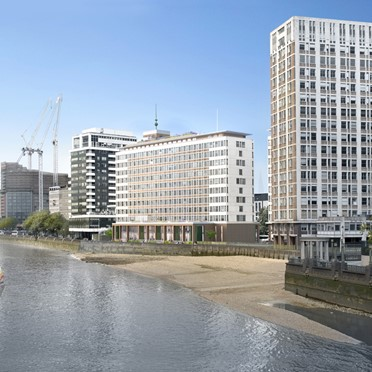 Office space in Tintagel House, 92 Albert Embankment