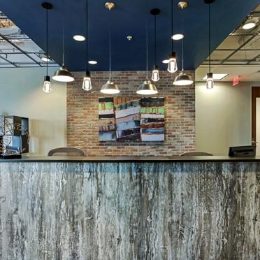 Office space in Suite 100, 7460 Warren Parkway