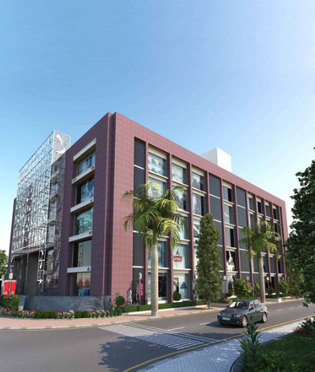 Office space in Vijay Char Rasta Memnagar