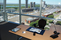 Office space in Bouchard Plaza Building, 557/599 Bouchard, 20th Floor